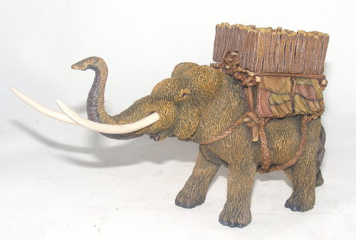 Painted Mammoth with Howdah