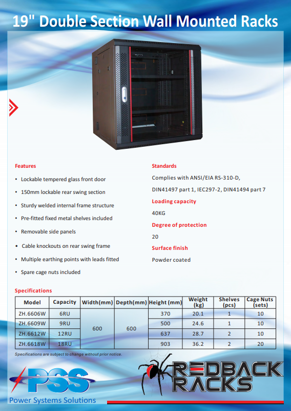 data rackmount cabinets