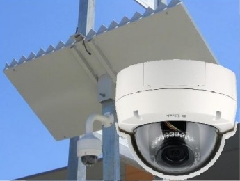 ad1150 solar powered security camera