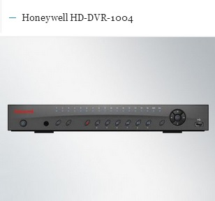 honeywell hd-dvr-1004
