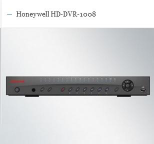 honeywell hd-dvr-1008