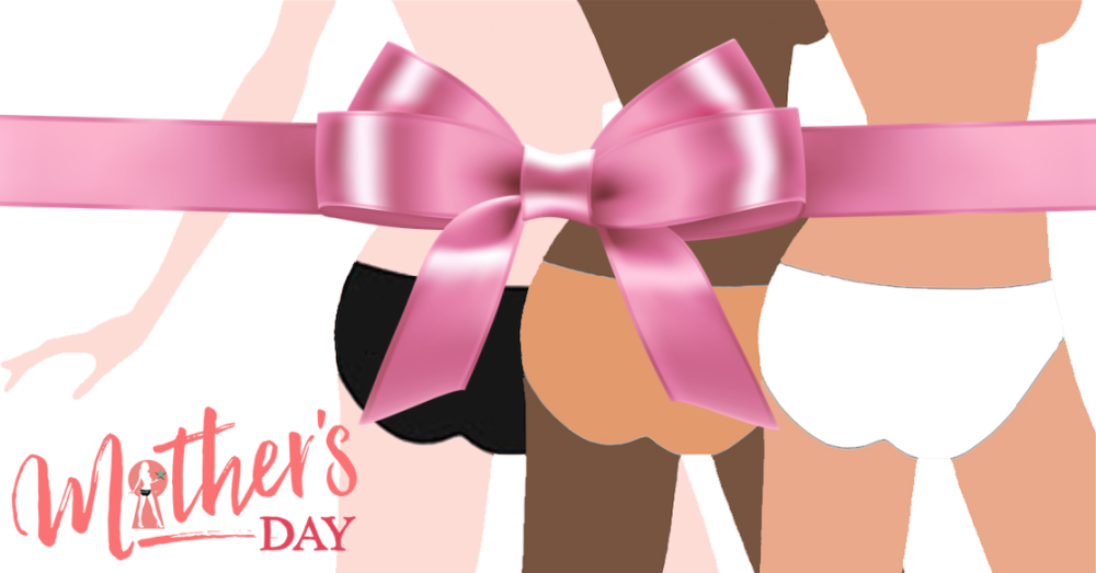 Mothers day logo big bow