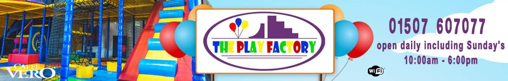 The Play Factory Louth, site logo.