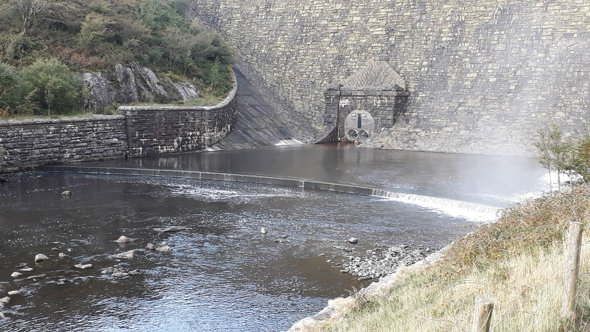 Dam near Elan Valley Visitor Centre