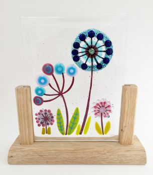 Botanical in Wooden Stand #1