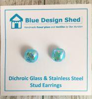 Turquoise Shimmer Earrings