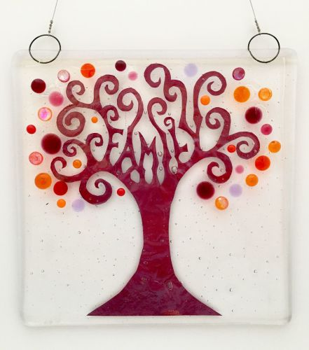 Green Family Tree Hanging 2