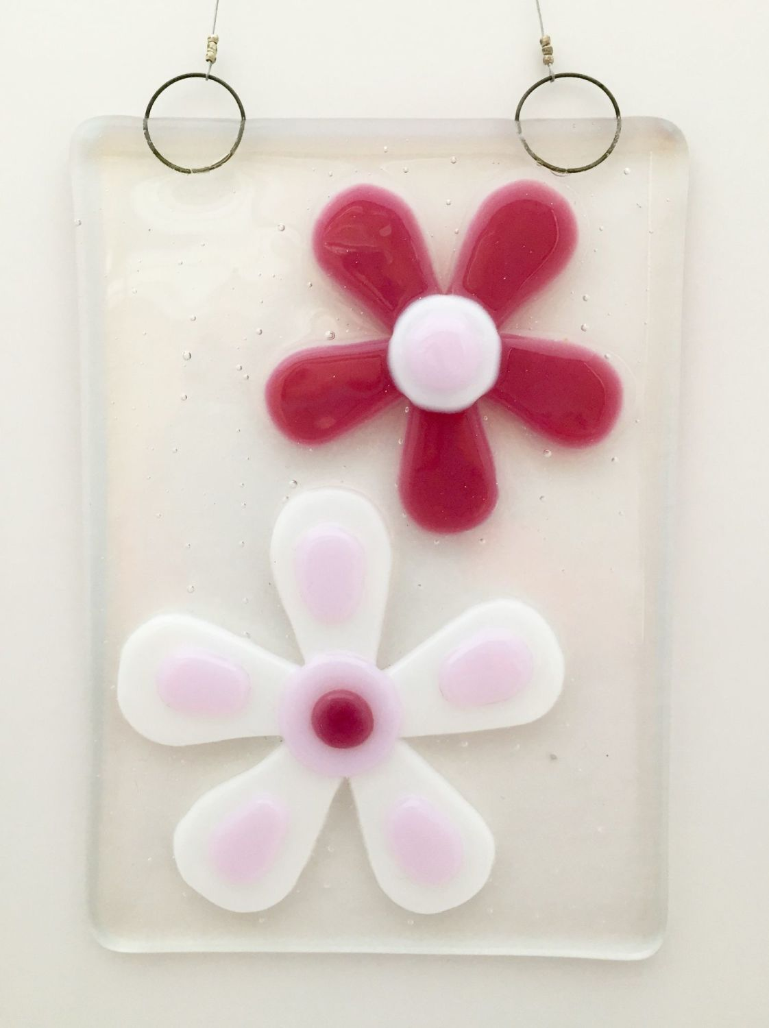 Double Pink Flower Hanging