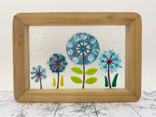 Freestanding Chunky Wooden Frame Picture #2