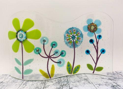 Freestanding Botanical Wave #2