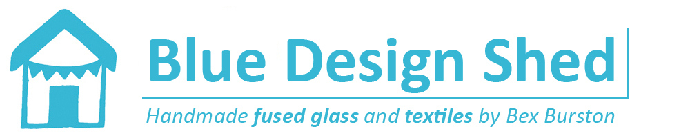 Blue Design Shed, site logo.