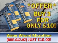 Water Wizard Microfibre Triple Pack