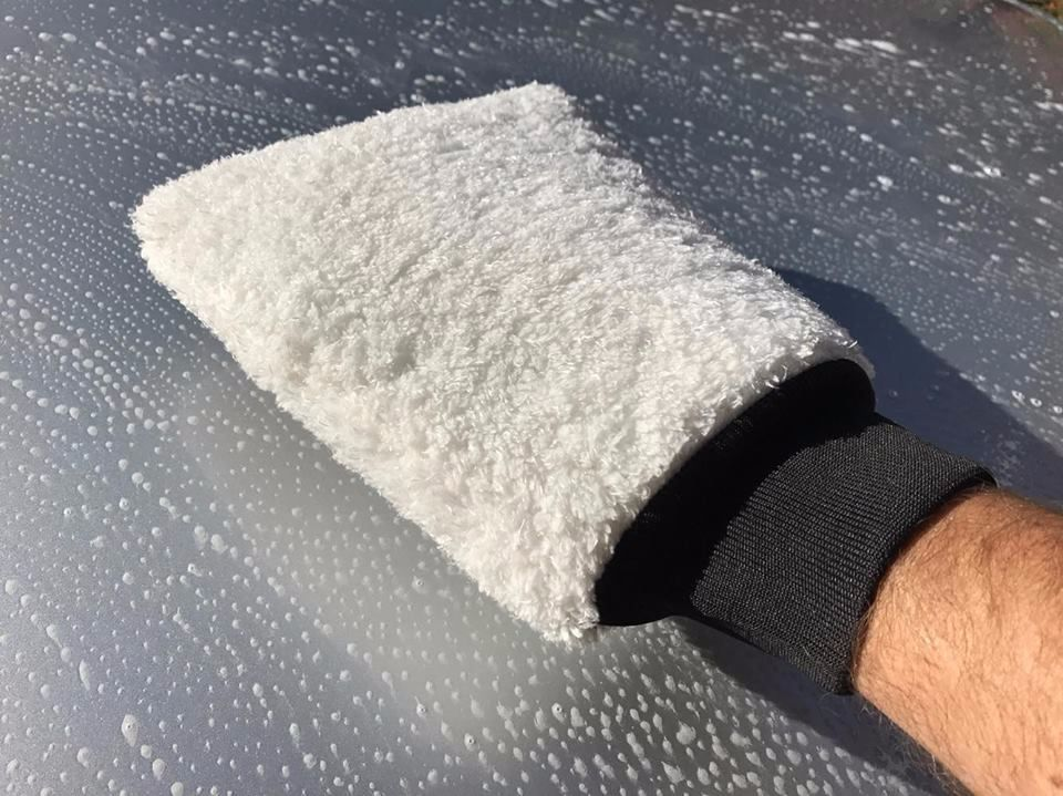 Microfibre Wash Mitt Super Thick