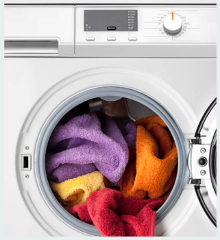 Washing Microfibres