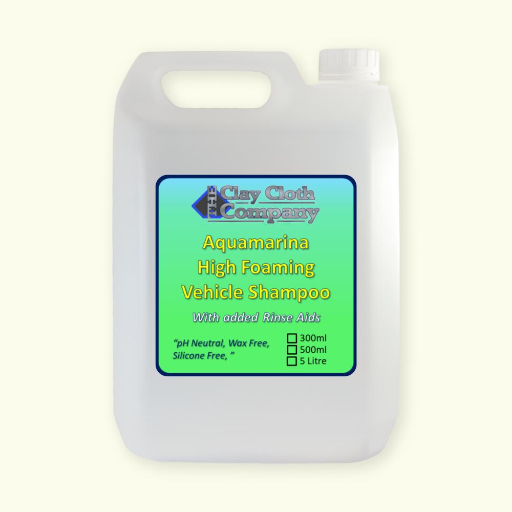 CCC Aquamarina pH Neutral Vehicle Shampoo 5Ltr