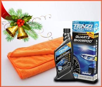 TENZI Quartz Shampoo Christmas Deal