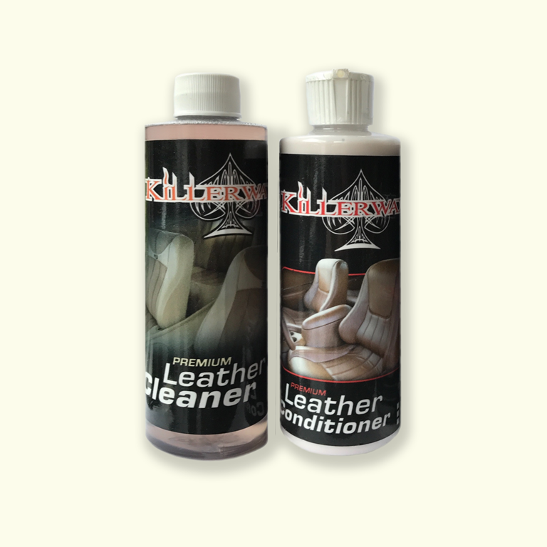 KILLERWAXX Premium Leather Cleaning Kit 235ml