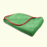"Microfibre Buffing/Drying Towel 380GSM 16"" x 24"" Green (Dual Pile Qualities)"