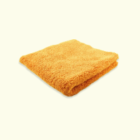 "Microfibre Edgeless Plush Finishing Cloth 450GSM 16""x16"" Orange"