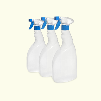 Trigger Spray Bottle 3 Pack 500ml Clear