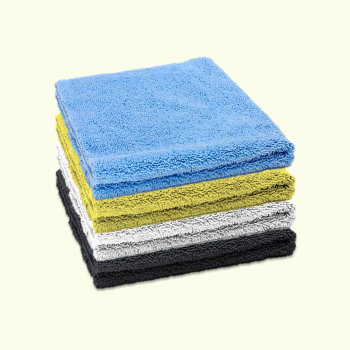 Microfibre Edgeless Cloth 380GSM 40cm x 40cm Multicoloured (Pack of 4)