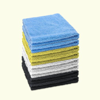 Microfibre Edgeless Cloth 380GSM 40cm x 40cm Multicoloured (Pack of 8)