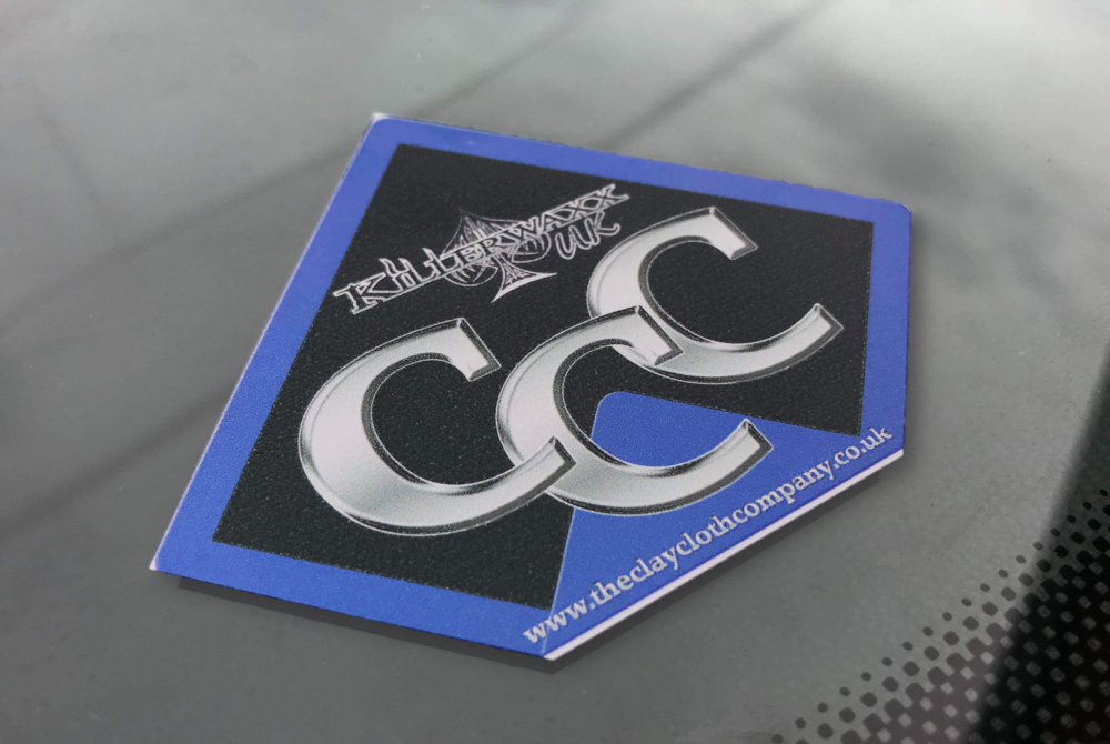 Vinyl Sticker Decal CCC Logo