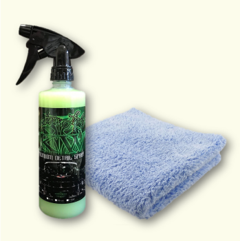 KILLERWAXX Northern Lights Premium Detail Spray 470ml & Plush Microfibre