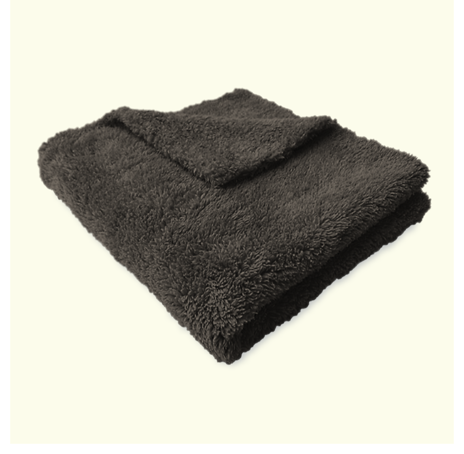 Microfibre Edgeless Plush Coral Fleece Finishing Cloth 450GSM 40cm x 40cm B