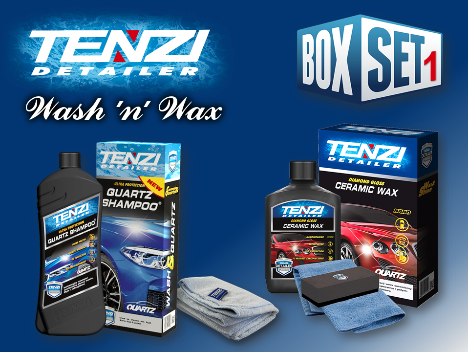 TENZI Wash 'n' Wax Box Set 1