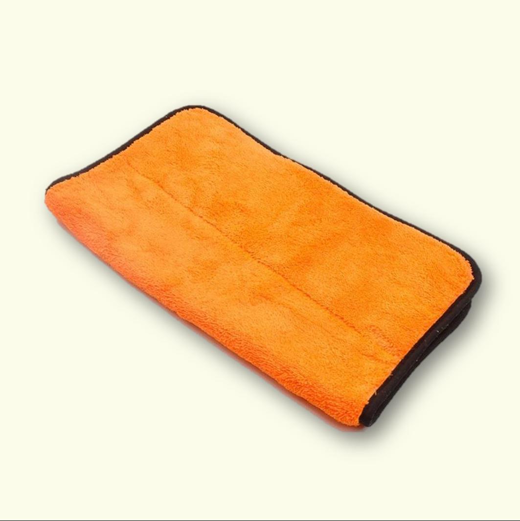 'Jaffa' Microfibre PREMIUM Plush Coral Fleece Drying Towel 800GSM 40cm x 60