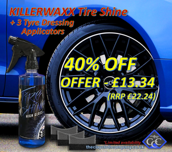 KILLERWAXX Tire Shine High Gloss Deal