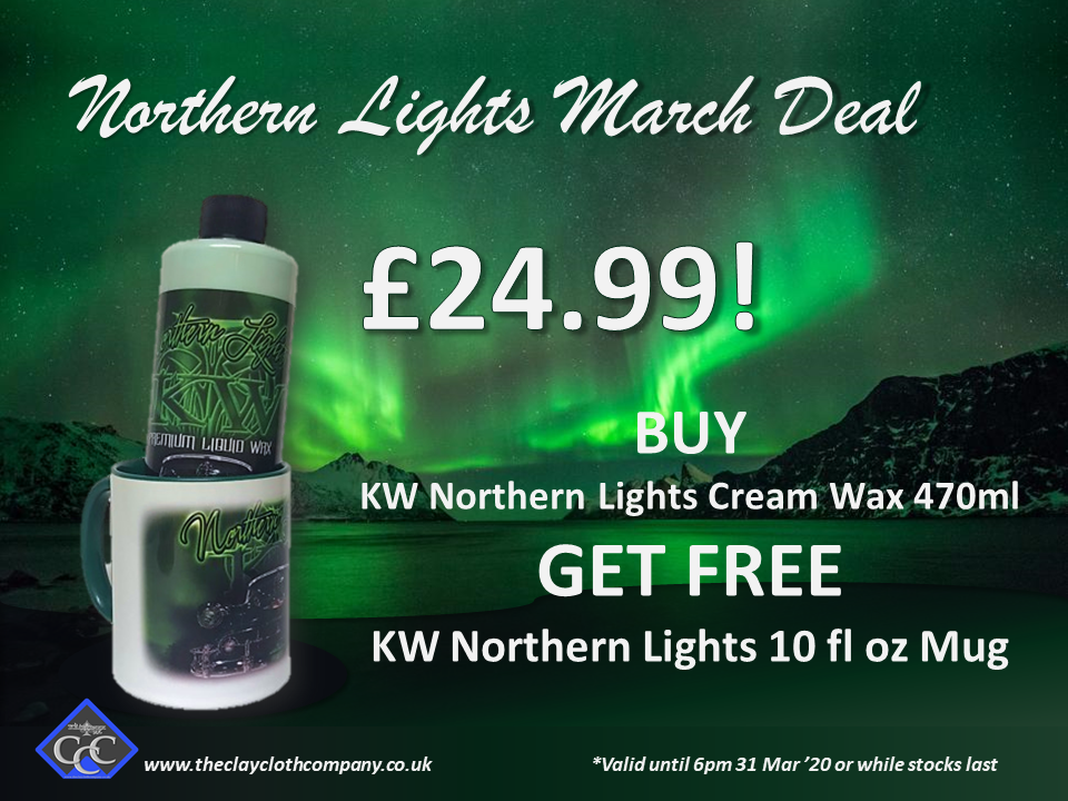 KILLERWAXX Northern Lights March Deal