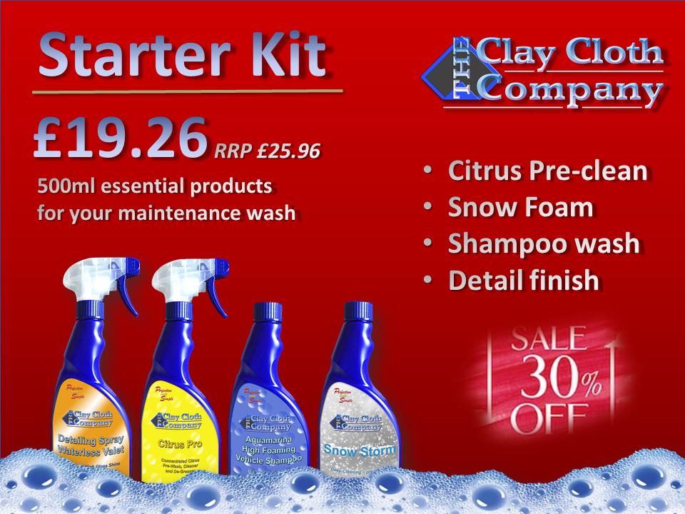 CCC Starter Kit (Was £25.96)