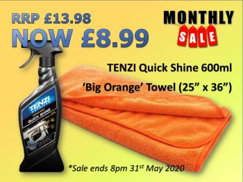 TENZI May Deal - Quick Shine & Big 'O'
