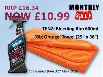 TENZI May Deal - Bleeding Rim & Big 'O'