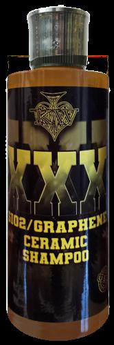 KW XXX Sio2 Graphene Ceramic Car Shampoo 235ml Label Update Transparent Bac
