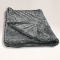 'Mammoth' Twist 1200GSM Edgeless Microfibre Twisted Loop Drying Towel 80cm x 50cm