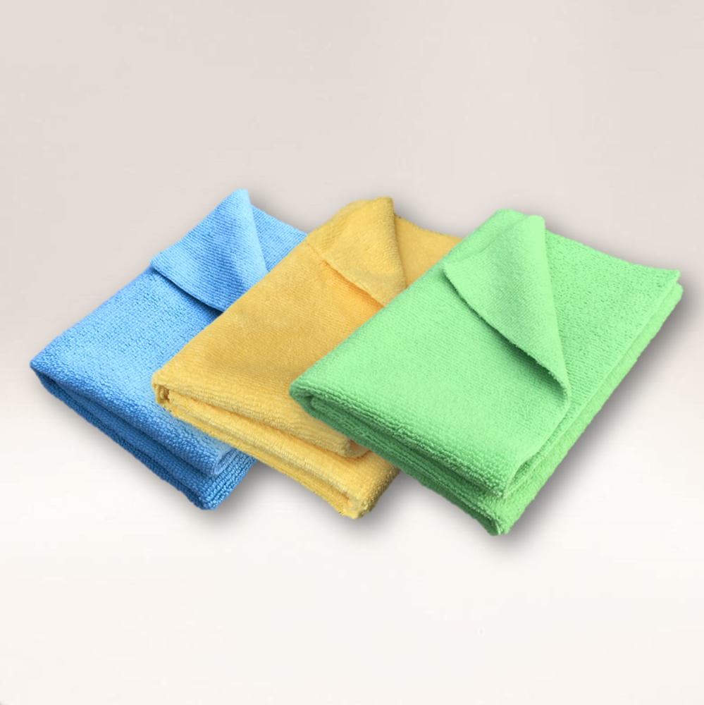 Microfibre Edgeless Cloth 300GSM Ultrasonic Cut 35cm x 35cm