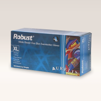Aurelia Robust Thick Nitrile Powder Free Gloves