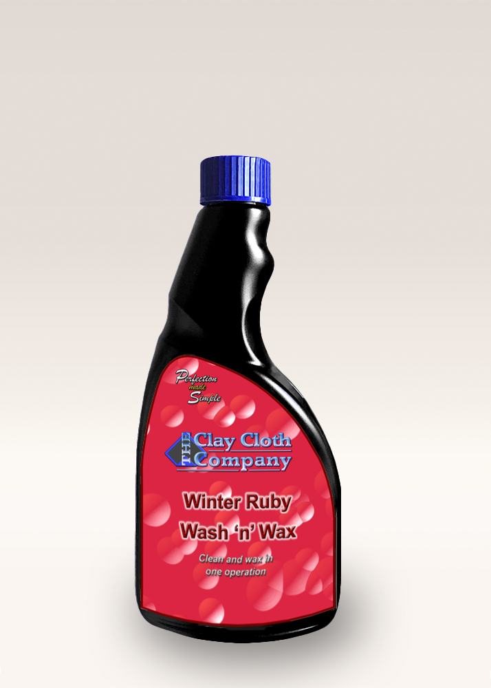 CCC Winter Ruby Wash 'n' Wax pH Neutral Vehicle Shampoo 500ml