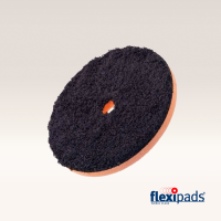 """Flexipads DA BLACK Microfibre Cutting Disc 5"""" (19mm Hole)"""