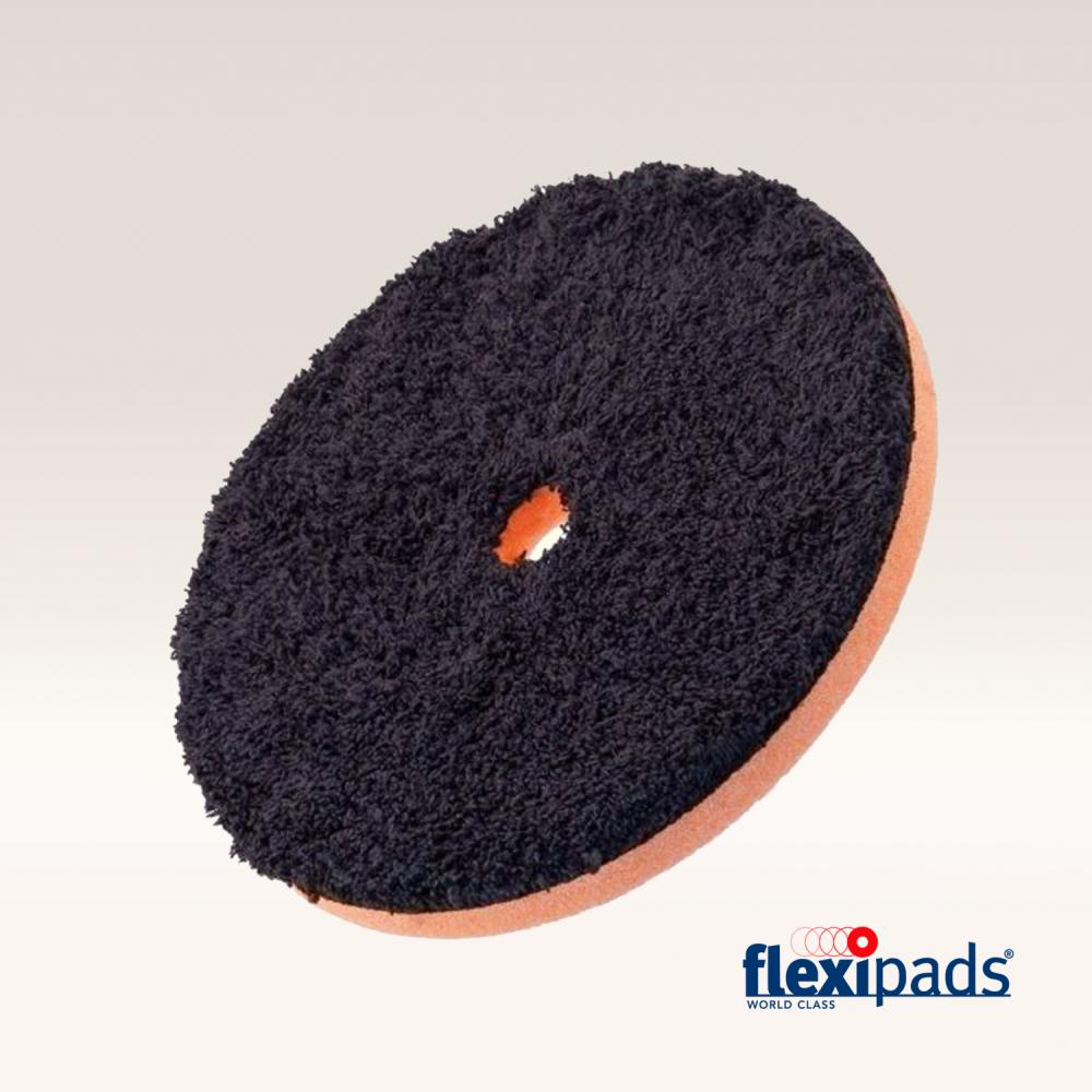 """Flexipads DA BLACK Microfibre Cutting Disc 6"""" (19mm Hole)"""