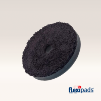 "Flexipads DA BLACK Microfibre Finishing Disc 5"" (19mm Hole)"