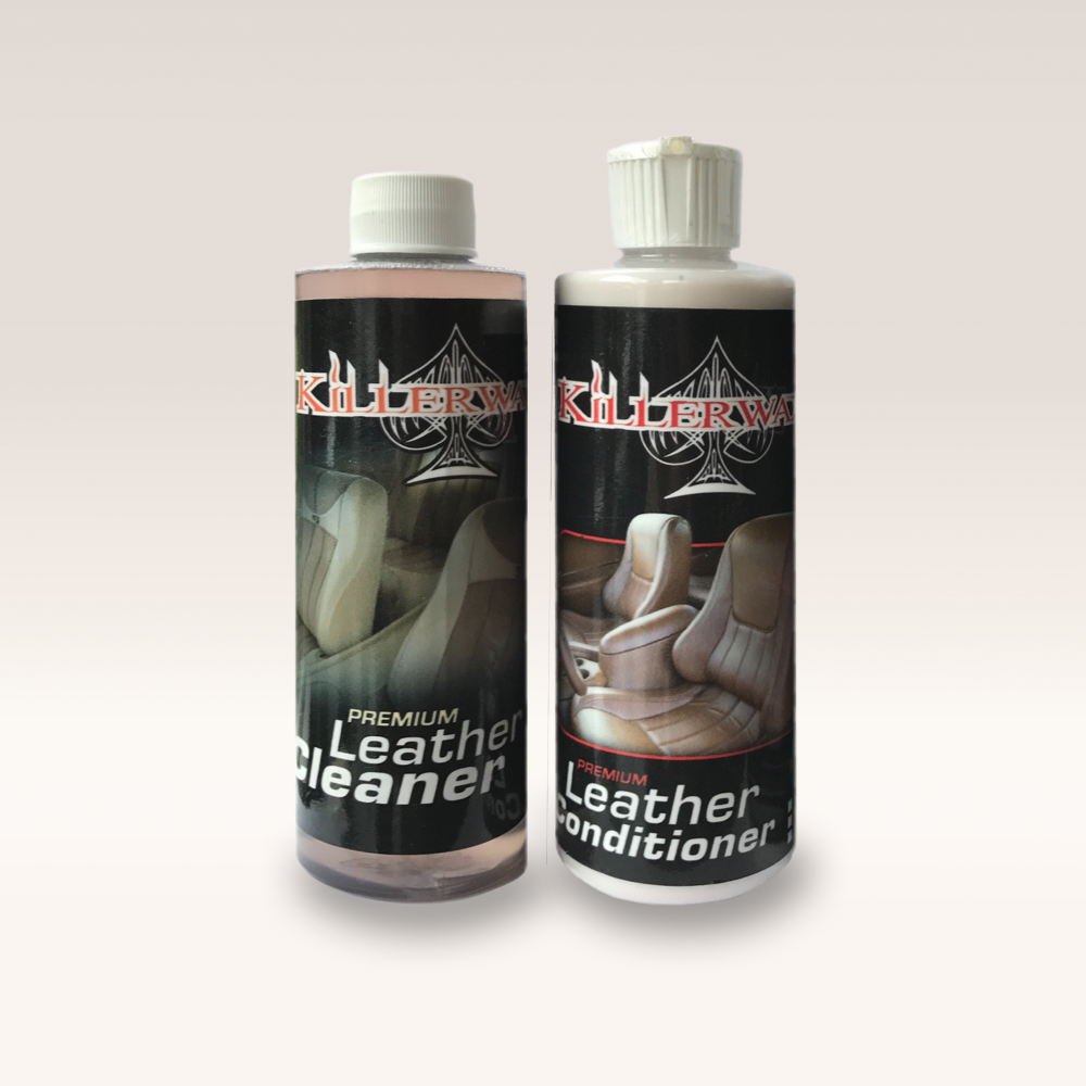 KILLERWAXX Leather Cleaning Kit 235ml