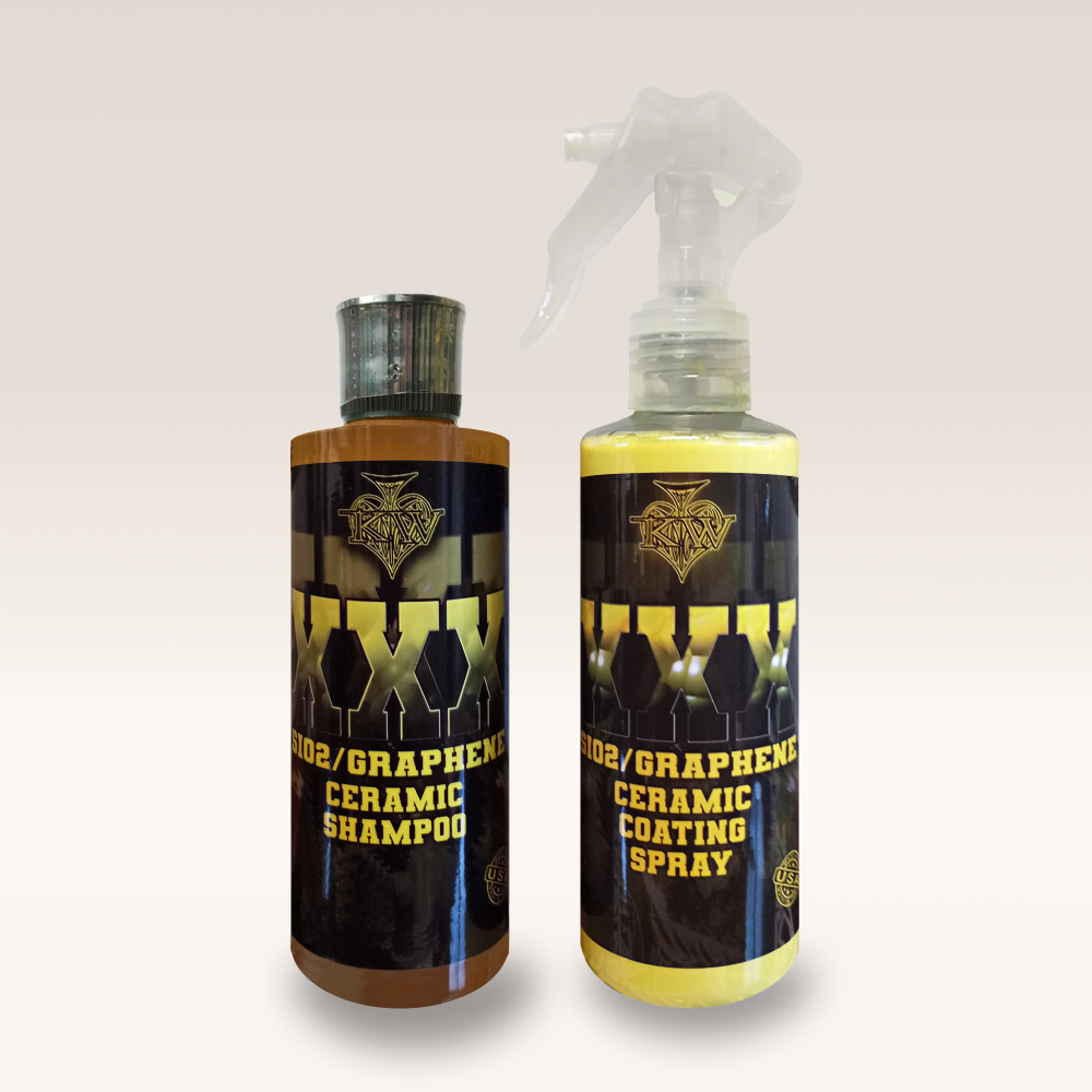 KILLERWAXX XXX SiO2/Graphene Ceramic Shampoo & Coating Spray Kit 235ml