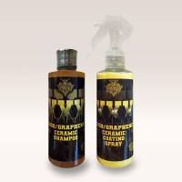 KILLERWAXX XXX SiO2/Graphene Ceramic Shampoo & Coating Spray Kit 235ml
