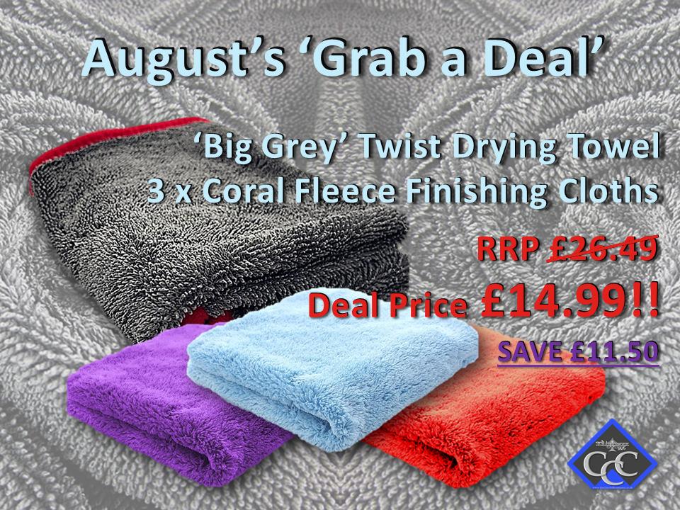 August 'Grab a Deal'