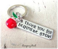 'Thank You For Helping Me Grow' Keyring