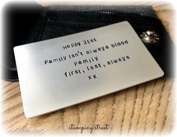 Wallet Insert (plain)